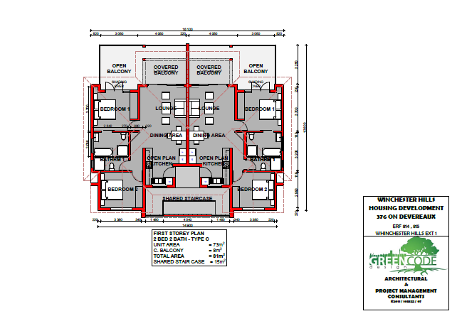 First Storey Plan